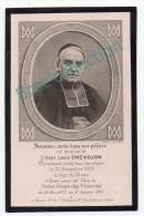 Paris, Seurre, Mémento Abbé Louis Chevojon, Curé De Notre-Dame Des Victoires, 20/11/1898, Souvenir Mortuaire - Images Religieuses