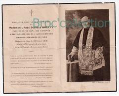 Paris, Mémento Abbé Georges Breffy, Curé De Notre-Dame Des Victoires, 11/02/1932, Souvenir Mortuaire - Images Religieuses