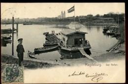 Cpa  Allemagne  Magdeburg  Der Hafen     ARF8 - Magdeburg