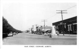 Main Steet, Cochrane - Alberta - CPA En  Très Bel Etat  - (voir 2 Scans) - Alberta