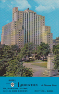 Canada Quebec Montreal Le Laurentin Sheraton Hotel