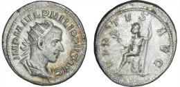 FILIPO I (EL ARABE) (244-249)  244-ROMA  ANTONINIANO-PLATA/SILVER   MBC/VF   DL-10.383 - 5. L'Anarchie Militaire (235 à 284)