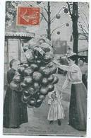 Fete Foraine La Marchande De Ballon - Berufe