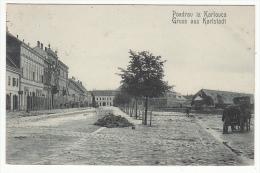 HR - CROATIA - KARLOVAC - 1905  , Old Postcard - Croatie