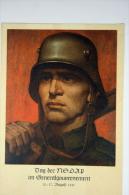 Generalgouvernement: Propagandapostkarte,Tag Der NSDAP 1941, Krakau Stempel