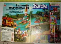 PUB PUBLICITE POUPEE BARBIE MATTEL 1 - Old Paper
