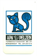 Zakkalender - APA Pelzen - Borgerhout - Calendriers