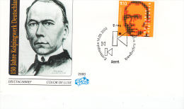 KOLPING    - WEST  GERMANY -  2000 - 150TH ANNIVERRSARY  ON  ILLUSTRATED FDC - Persönlichkeiten