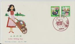 =Japan FDC1989 - FDC