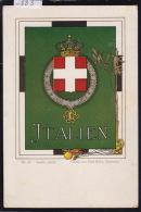 Wappen Von Italianische Republik Ca 1900; Verlag Von Paul Kohl Chemnitz - Emblema Della Repubblica Italiana (-883) - Italia