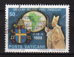 VATICANO - 1989 YT 867 USED - Vaticano (Ciudad Del)