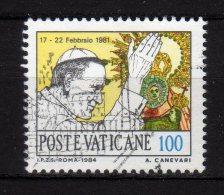 VATICANO - 1984 YT 756 USED - Vaticano (Ciudad Del)