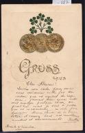 20 Francs Or : 3 Vrenelis De 1900 (1 Pile 2 Faces) : Gruss Aus... (Bière En 1901) (-887) - Monnaies (représentations)