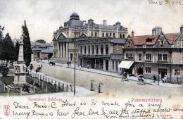 RRR! 1903 PIETERMARITZBURG (Südafrika, Provinz KwaZulu-Natal), GOVERNMENT BUILDINGS, KARTE GELAUFEN UM 1903 - Sud Africa