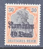 Romania  German Occupation  3N 12  * - Occupazione 1914 – 18