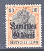 Romania  German Occupation  3N 12  (o) - Occupation 1914-18