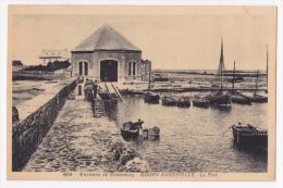 Environs De Cherbourg - Goury-Auderville - Le Port (petite Animation) - Pas Circulé - Francia