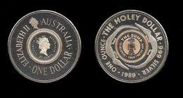 AUSTRALIE . HOLEY DOLLAR . 1989 . - Émissions étrangères