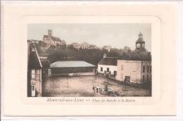 Montreuil Aux Lions - Place Du Marché Et La Mairie - Other Municipalities