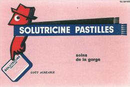 Buvard Publicitaire Solutricine Pastilles - Buvards, Protège-cahiers Illustrés