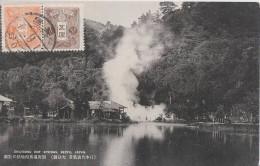 Beppu  ** MAGNIFIQUE Carte  **  Edition Taisho ( 07-09-1913) - Japon