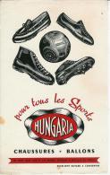 Buvard Publicitaire Chaussures De Sport Hungaria - Sports