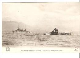 Toulon Exercice Des Sous Marins-marine Nationale - Manovre