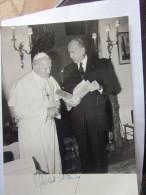PHOTO AFP GISCARD D´ESTAING - JEAN PAUL II - 31 MAI 1980 VISITE EN FRANCE DU SAINT PERE - Religion & Esotericism