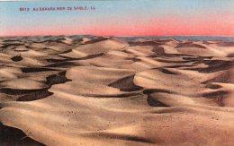 AU SAHARA MER DE SABLE - Cpa - Sahara Occidental