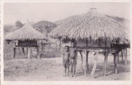 ¤¤  -   147   -  OUBANGUI   -  Silo à Riz  -  Enfants   -  ¤¤ - Postcards