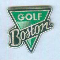 Pin´s GOLF BOSTON - Zamac - B1085 - Golf