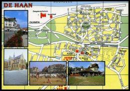 AK MAP, Citymap, Stadtplan **DE HAAN** - Maps