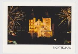 MONTBELIARD - FEERIE NOCTURE AU CHATEAU - IMAGE DE GUY JANIN - CARTE NON VOYAGEE - Montbéliard