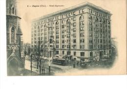 C P A ---O H-----OHIO-DAYTON-hotel Algonquin---voir 2 Scans - Dayton