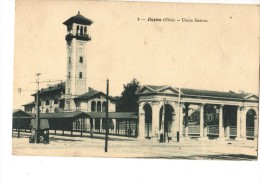C P A---O H---OHIO---DAYTON----union Station---voir 2 Scans - Dayton