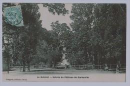 91b18CpaLE GUICHETEntrée Du Château De Corbeville 190? , Gorgeon , Edit Orsay - France