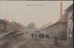 CPA : Cirey : Rue De La Verrerie: Animée - Autres Communes