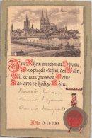 KOLN    /   ANNEE 1903   /  LOT 630 - Koeln