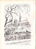 CARTES , 75 , PARIS , Notre-Dame - Maps