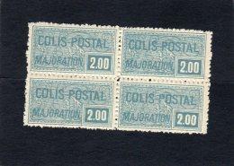 Timbre Colis Postal:année1926 Bloc De 4 N° 79* - Neufs