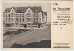 18263g HOTEL Des ARGOUSIERS - Albert-Plage - Knocke - 15x10.5c - Knokke