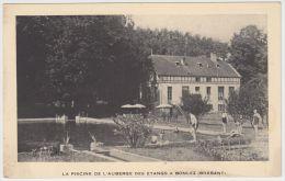 18270g PISCINE - AUBERGE Des Etangs - Bonlez - Carte Publicitaire - Chaumont-Gistoux