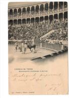 CORRIDA DE TOROS  Machaquito Entrando A Matar Hauser Y Menet N° 991 Circulé En 1905 - Madrid