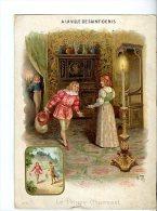 CHROMOS , PUBLICITES, A LA VILLE DE ST-DENIS, Le Prince Charmant  AVRIL 2013  1531 - Autres
