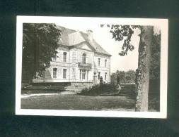 CPSM - Vaire Le Grand (25) - Chateau - Parc Façade Est ( Cachet Colonie De Vacances Au Dos - Frankrijk