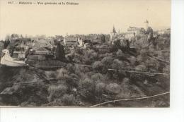 Aubonne Vue Générale Et Le Château - VD Vaud