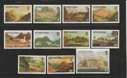 ST. HELENA, 1976, Stamps MNH, Landscapes (not Complete) 11Values Nrs. 285=297 - Sint-Helena