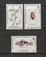 ST. HELENA, 1975, Stamps MNH, Charles Melisa (3 Values Only), Nrs. 276-=279 - Sint-Helena