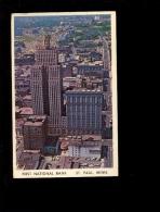 SAIN ST PAUL Minnesota : Building Of The First National Bank Skyscraper  1965 - St Paul