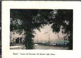 1952 NAPOLI PANORAMA DAL GIARDINO DEGLI ARANCI FG V SEE 2 SCAN - Napoli